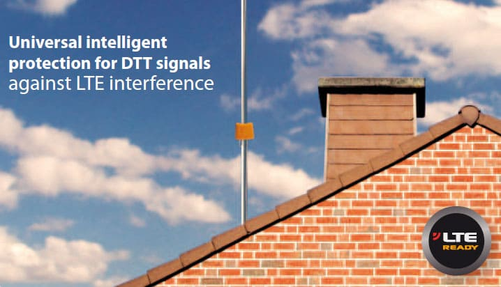 Universal intelligent protection for DTT signals against LTE interference