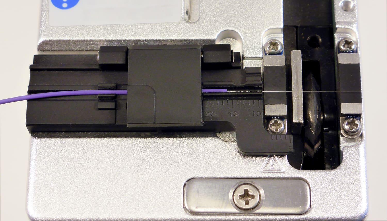 Establecer una longitud de corte acorde a la fusionadora