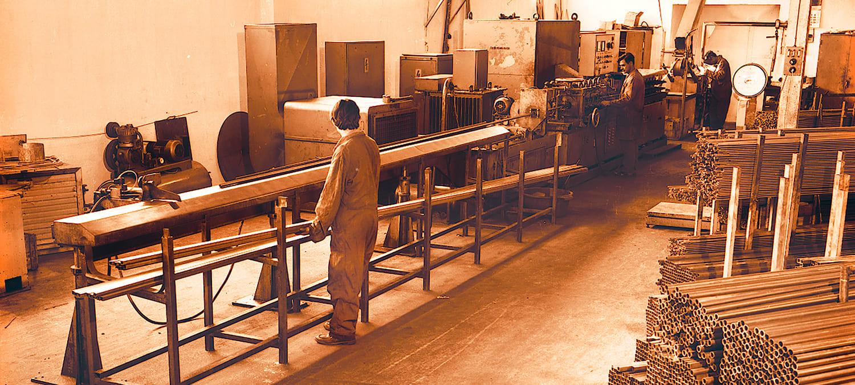 Televés fabbrica internamente i tubi di alluminio delle sue antenne dal 1965