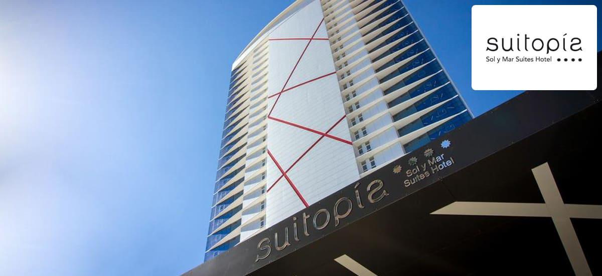 Suitopía**** Sol y Mar Suites Hotel (Calp, Alicante)