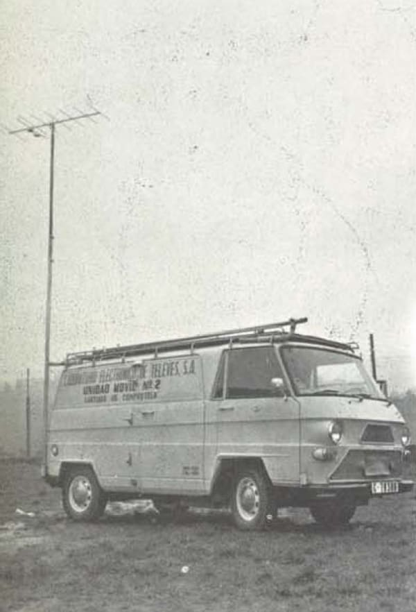 Televes was already deploying Mobile Units back in 1970