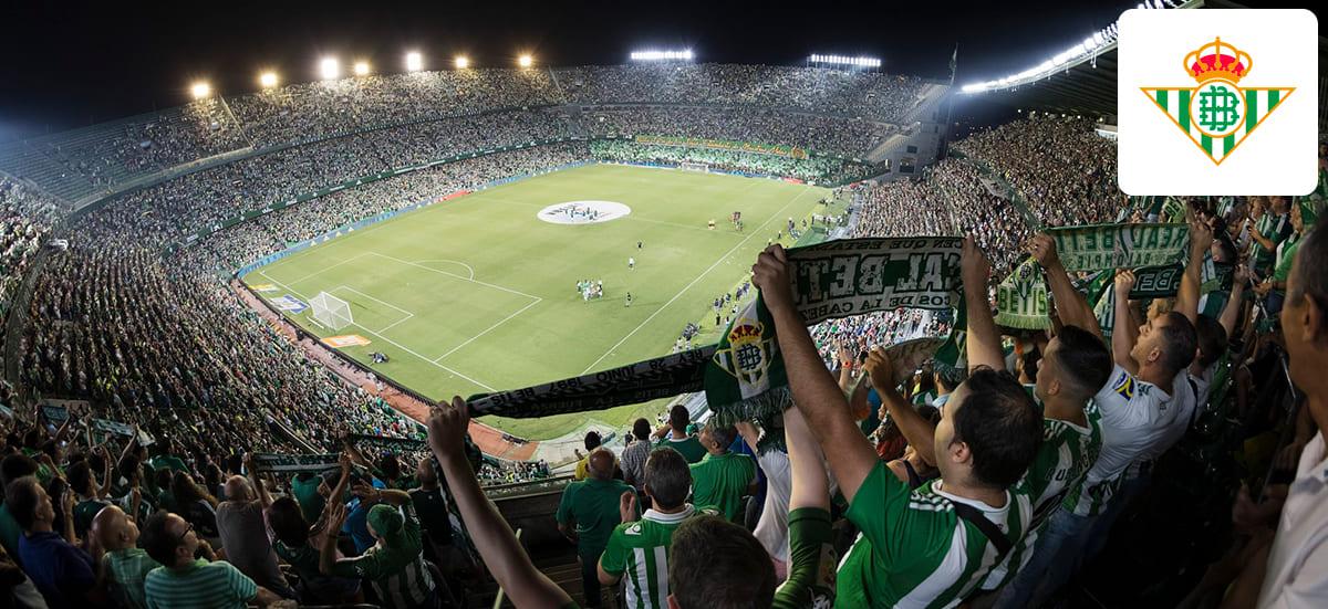 Instalación real del Estadio Benito Villamarín