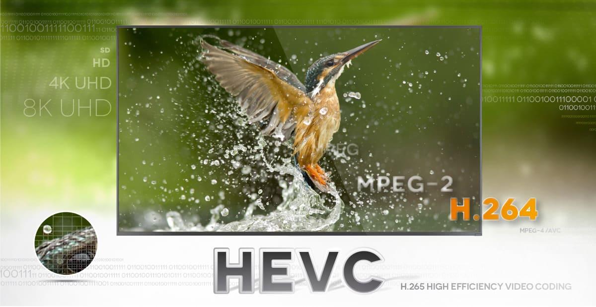 HEVC, la última frontera en desarrollo de compresión de vídeo