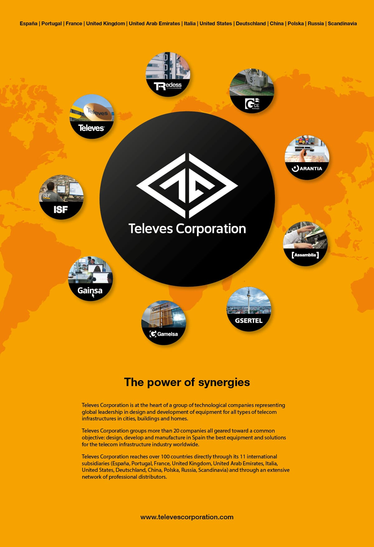Televes Corporation, the power of synergies