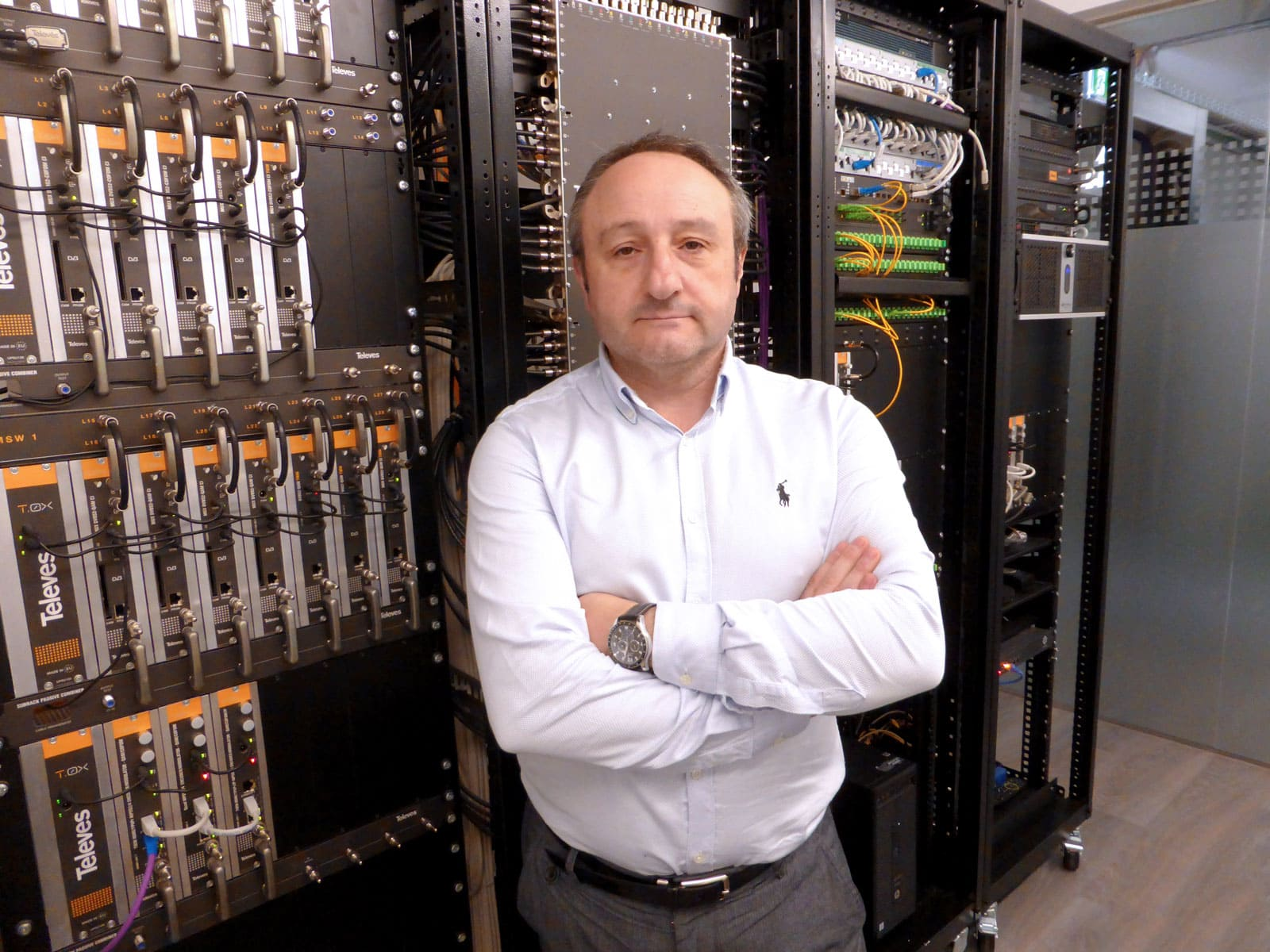 Javier Esteban, Technical Support Manager for GPON Networks