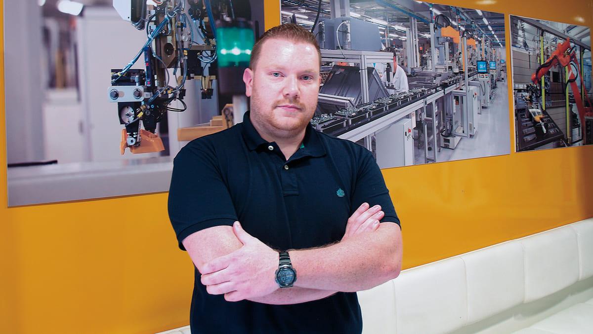 José María Soneira, tecnico del dipartimento di Assistenza Tecnica