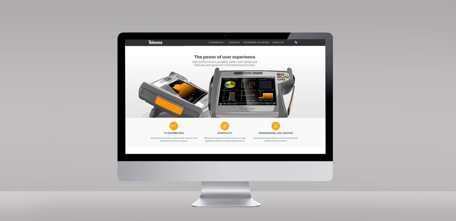 A website ready for the digital transformation era