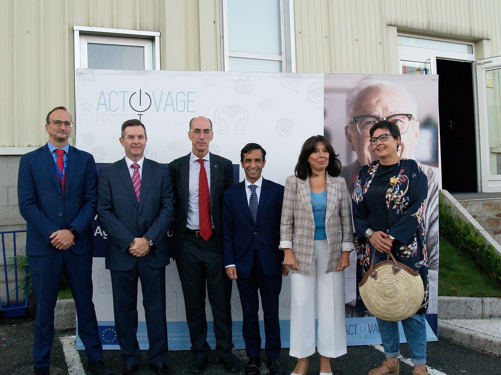 Sucesso no encontro anual do projecto internacional ACTIVAGE na sede da Televes Corporation