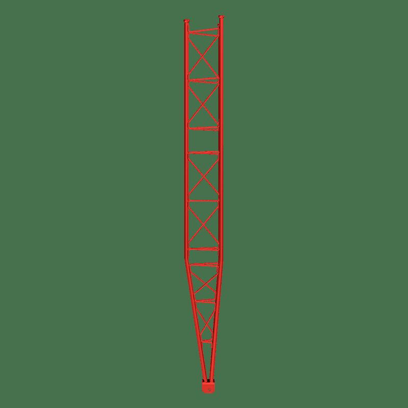 Torre arriostrada 450XL, reforzada
