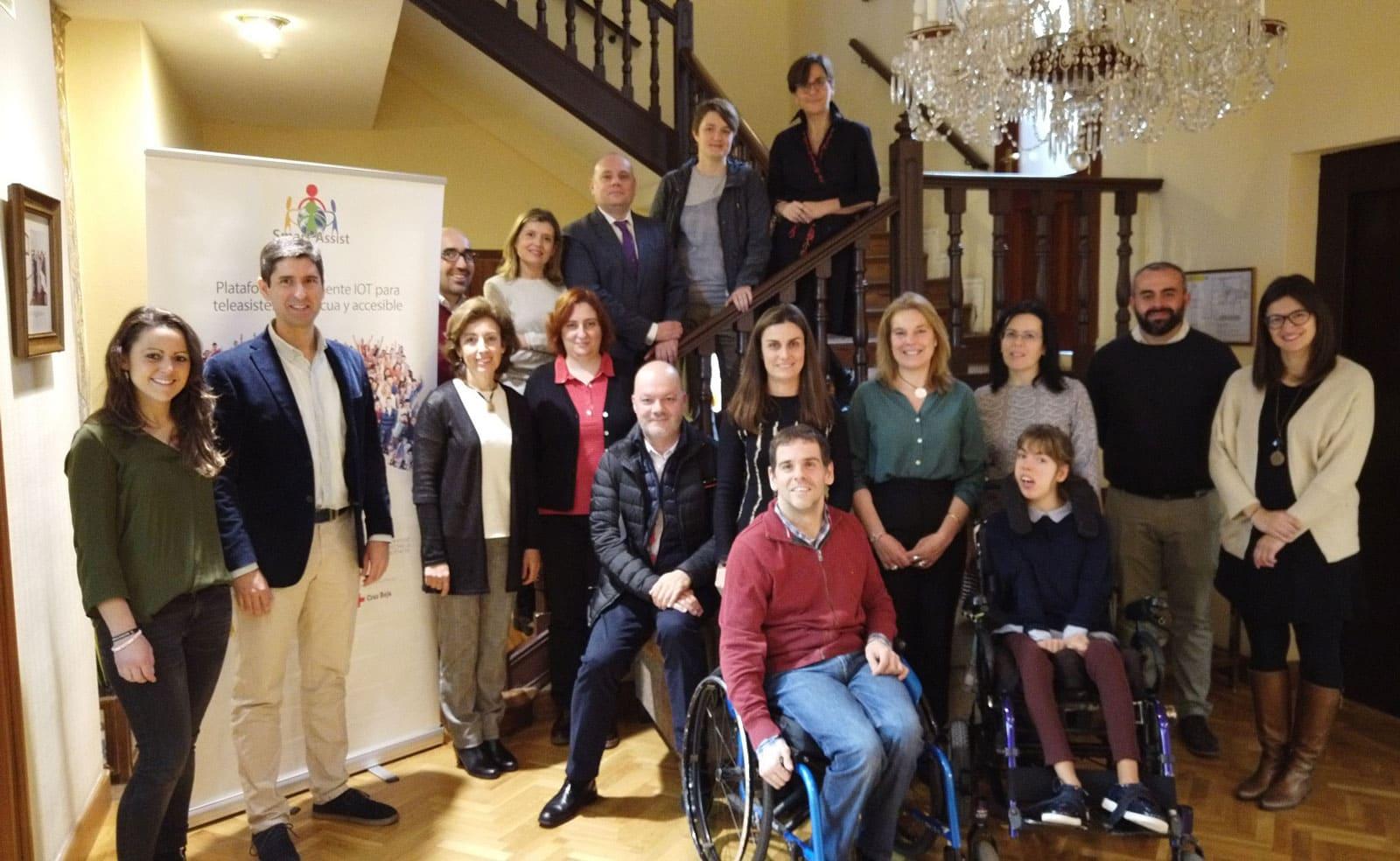 Abschluss von Smart Assist, einem Technologieprojekt aus dem sozialmedizinischen Bereich zur Unterstützung von benachteiligten Gesellschaftsgruppen