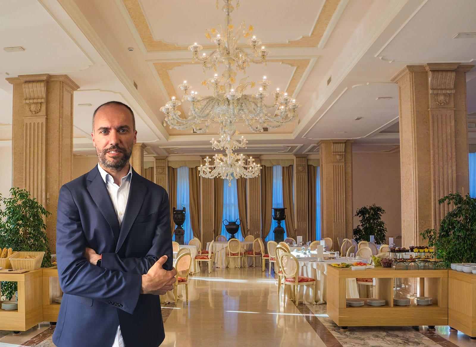 Guillermo Fernández, Verantwortlicher für internationale Geschäftsentwicklung des Bereichs Hospitality