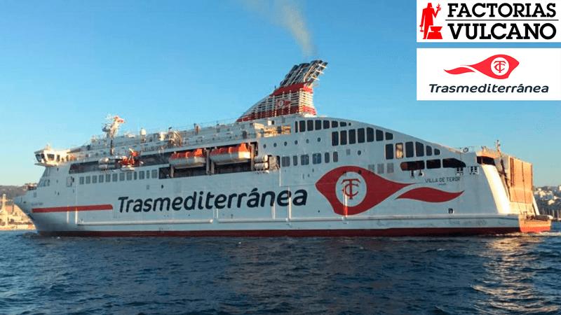 CSchiff Villa de Teror von Trasmediterránea