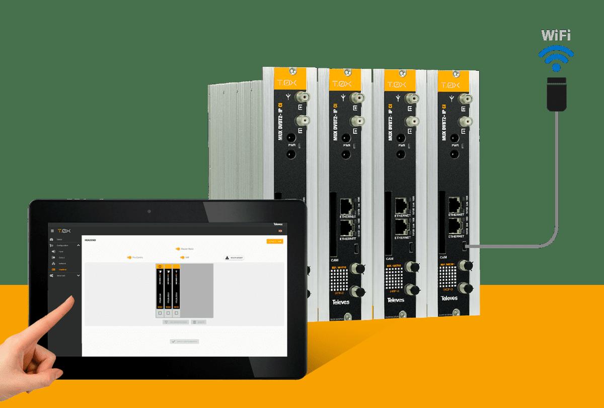 IP-Streamer: Wechseln Sie auf ein IP-Ausgangssignal mit allen Vorteilen der T-0X-Kopfstatione