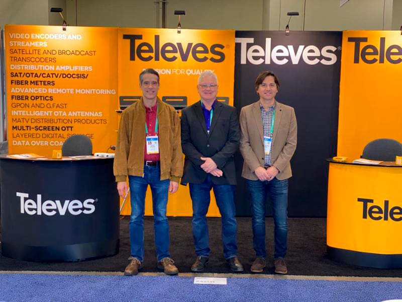 TELEVÉS WELTWEIT CES Las Vegas 6-9 januar 2020
