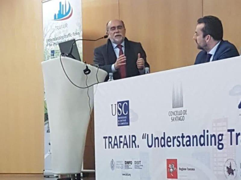 TELEVÉS WELTWEIT Präsentation des Projekts Trafair 24 januar 2020