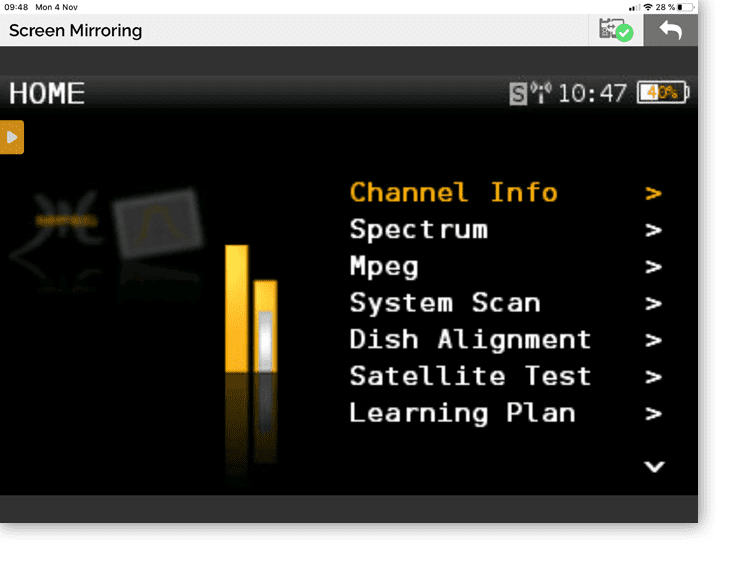 App H30Evolution Multi-screen access