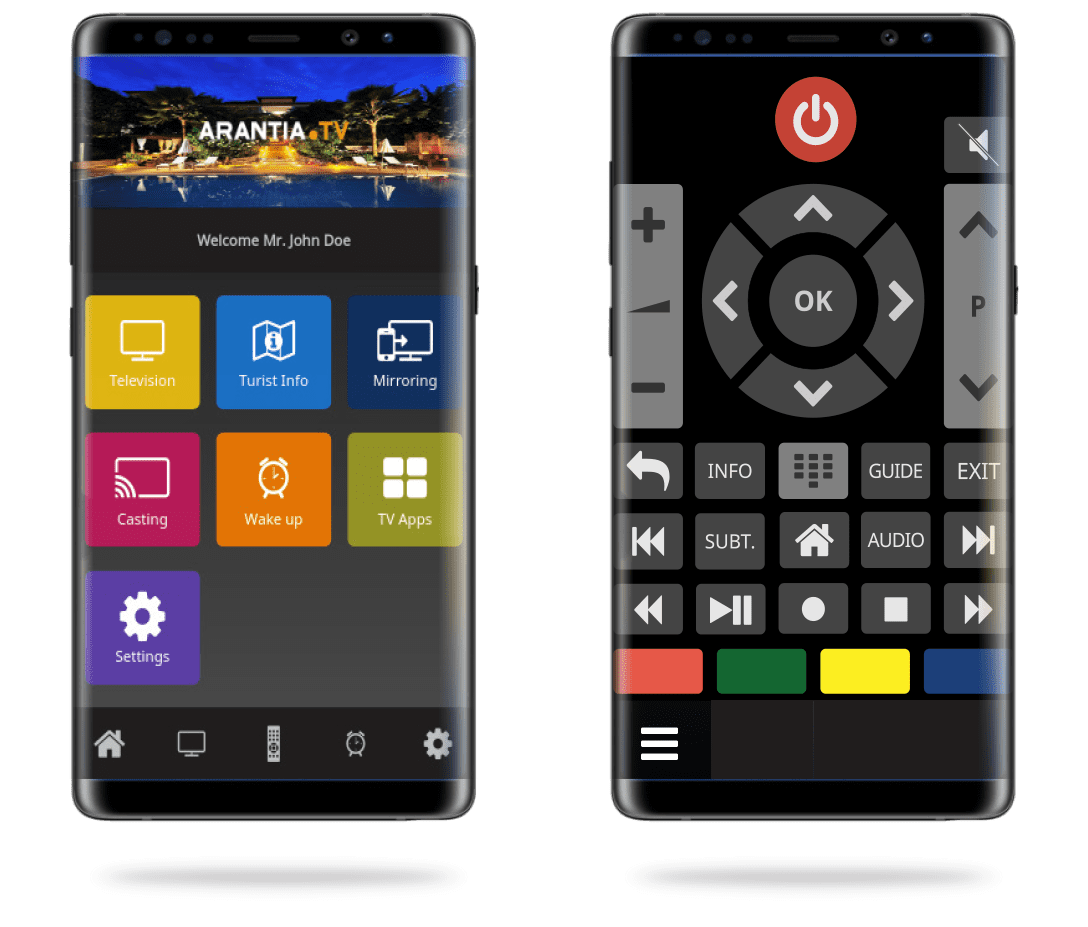 App mobile Arantia TV