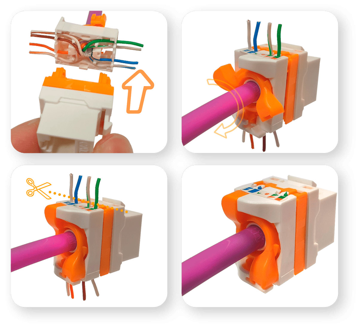 How to use data cable connection simply?