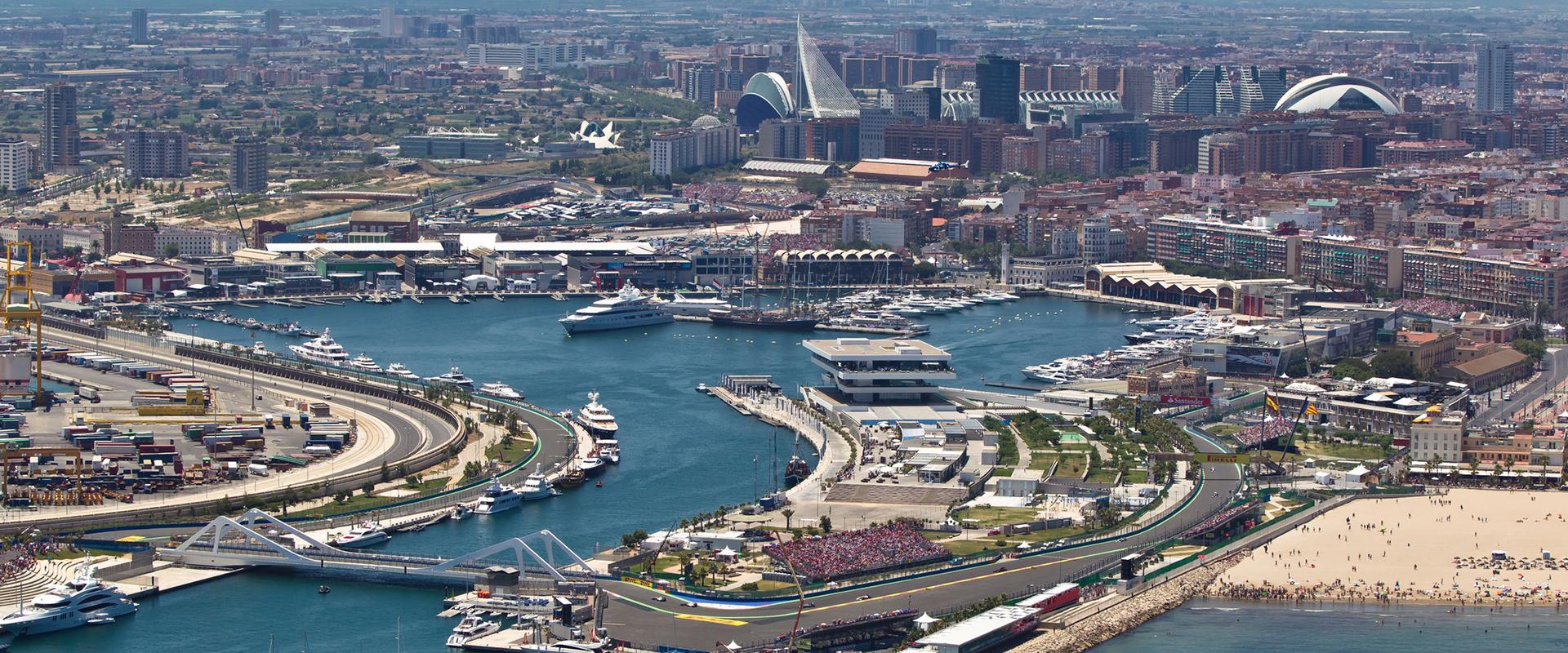 Circuito Valencia F1 : EspaÑa circuito f de valencia